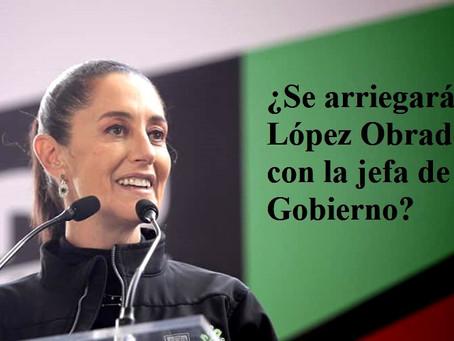 Claudia Sheinbaum, ya habla como candidata de MORENA