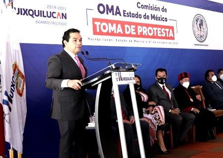 """""""En Huixquilucan, hay inversión y certidumbre"""": Enrique Vargas del Villar"""