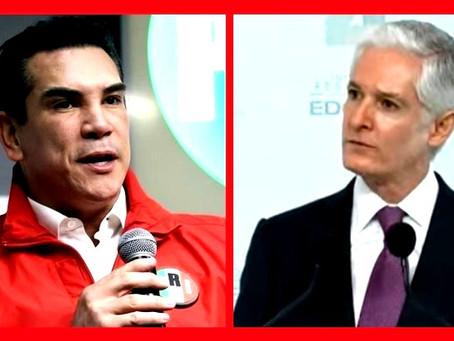 El distanciamiento político entre Alejandro Moreno Cárdenas y Alfredo del Mazo Maza