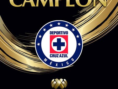 ¡Cruz Azul, Campeón de Campeones!