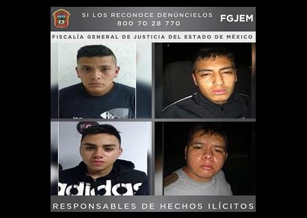 ¡200 años de prisión para cuatro secuestradores en el Edomex!