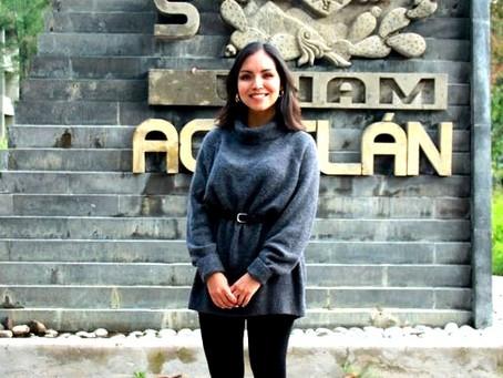 Jaqueline García Cordero, egresada de la FES Acatlán, es Premio Estatal de la Juventud Edomex