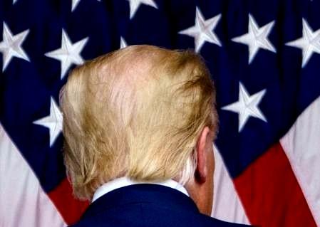 """""""Volveré"""", afirma Donald Trump en su discurso de despedida"""