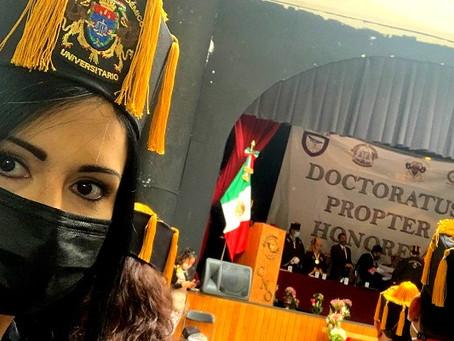 "Patricia Villa Medina, Doctor Honoris Causa ""Leona Vicario"""