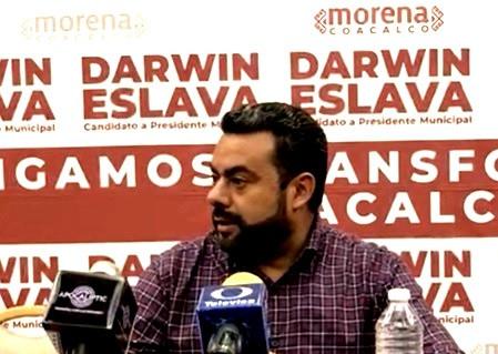 Darwin Eslava señala que hay irregularidades en 85% de las casillas
