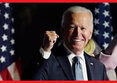 ¡Joe Biden es el nuevo presidente de los Estados Unidos de América!