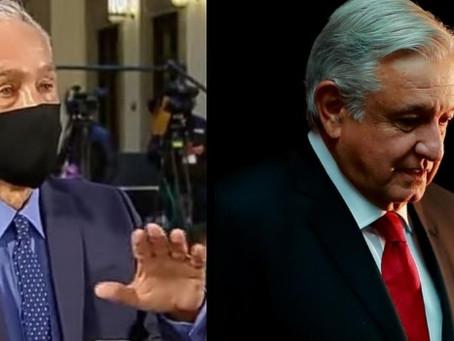 """""""López Obrador ha fallado en proteger la vida de los mexicanos, frente al crimen"""": Jorge Ramos"""