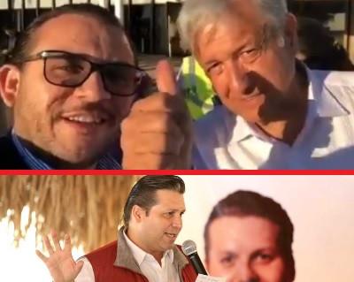 López Obrador manda saludos al priista Mario Zamora Gastelum