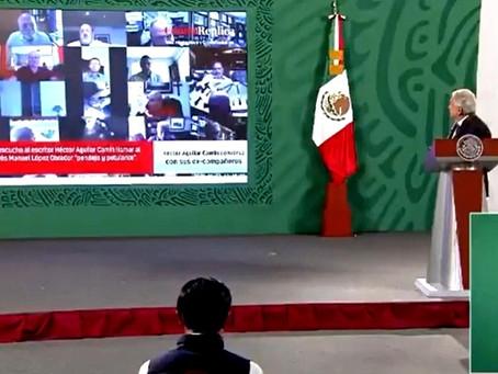 """López Obrador será revocado en 2022, por pendejo petulante"": Héctor Aguilar Camín"