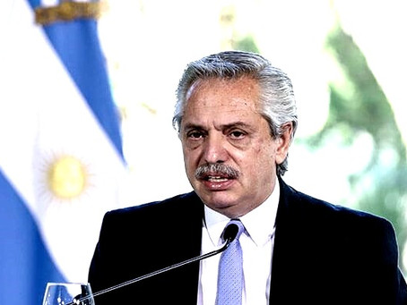 El presidente de Argentina, Alberto Fernández, hace comentarios despectivos contra los mexicanos