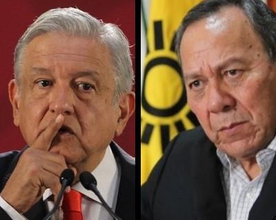 """Jesús Zambrano le pide a López Obrador que se aplique el """"ya cállate chachalaca"""""""