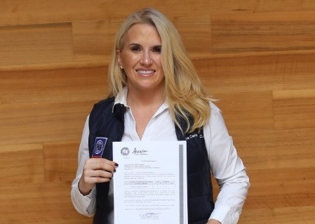 Romina Contreras Carrasco, una excelente noticia para todo Huixquilucan