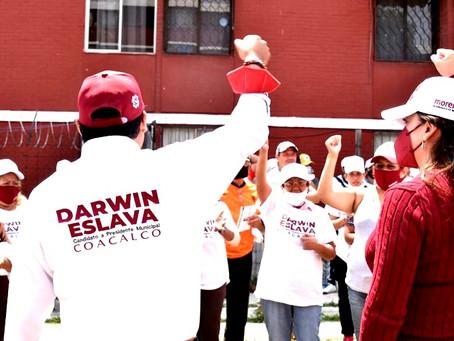 Darwin Eslava proyecta la creación de cinco mil empleos en Coacalco