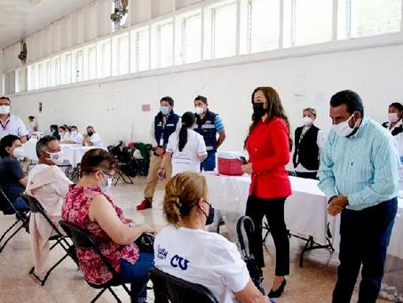 Coacalco vacuna a 200 mil personas y refuerza medidas contra COVID