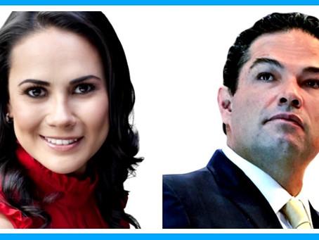 Alejandra del Moral y Enrique Vargas del Villar, la alianza para el triunfo en el Estado de México