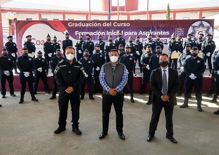 """Darwin Eslava fortalece """"cero corrupción"""" en la policía de Coacalco"""