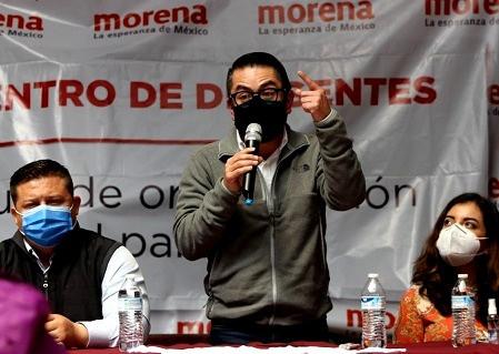 """""""La organización en MORENA no puede esperar"""", afirma Daniel Serrano Palacios"""