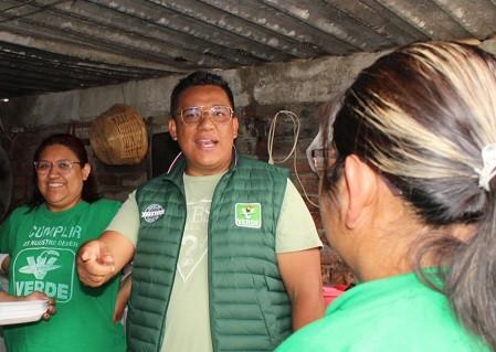 Jafet Sainz asegura que defenderá el territorio de Cuautitlán Izcalli