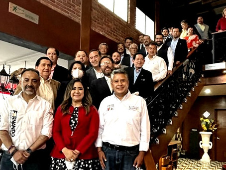 Destaca encuentro entre Fernando Flores Fernández y el Consejo Coordinador Empresarial Edomex