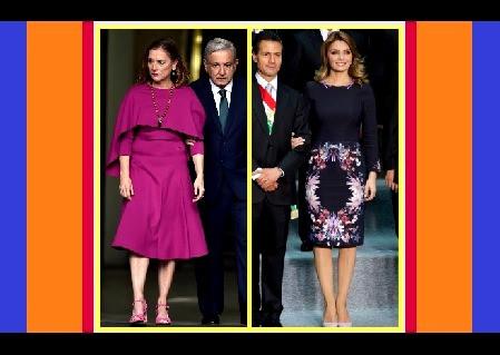 Beatriz Gutiérrez Müller, utiliza vestido de 3 mil pesos; la Gaviota los compraba en 8 mil dólares