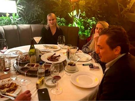 Emilio Lozoya se burla de López Obrador…¡y se va a cenar a un restaurante de lujo!