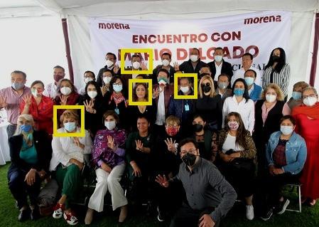Higinio Martínez Miranda, y su equipo de perdedores (los que apoyarán a Mario Delgado)