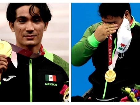 José Chessani y Arnulfo Castorena, logran medallas de oro para México en los Juegos Paralímpicos