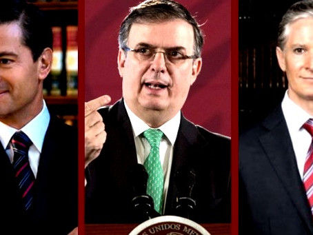 ¿Marcelo Ebrard cuenta con el apoyo de Enrique Peña Nieto y Alfredo del Mazo Maza?