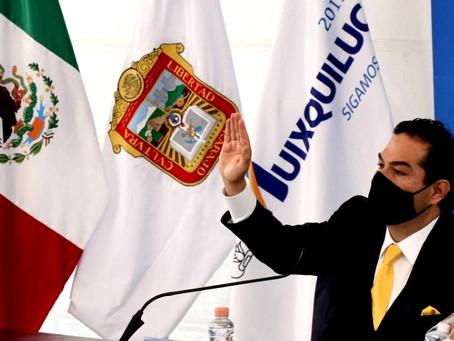 """""""No le fallé a Huixquilucan"""", señala Enrique Vargas del Villar al solicitar licencia como alcalde"""