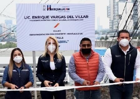 """""""A pesar de la pandemia, el trabajo no se detiene en Huixquilucan"""": Romina Contreras Carrasco"""