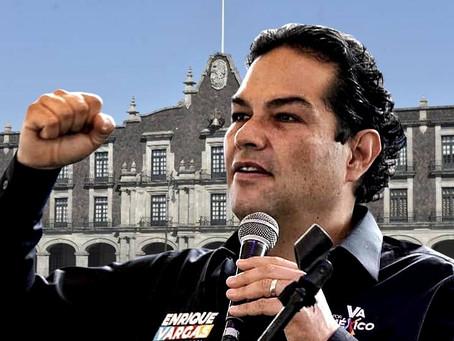 Enrique Vargas del Villar, firme hacia la gubernatura del Estado de México