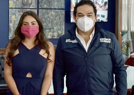 La regidora por Tlalnepantla, Krishna Romero, se suma al PAN Estado de México