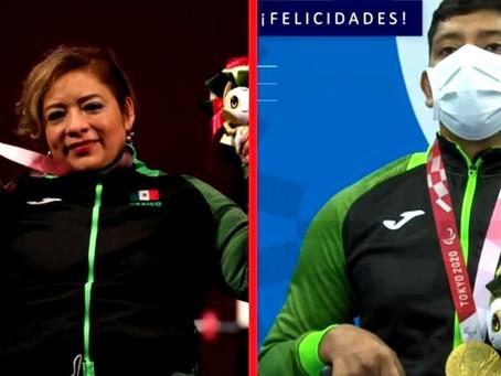 México logra dos medallas de oro en los Juegos Paralímpicos