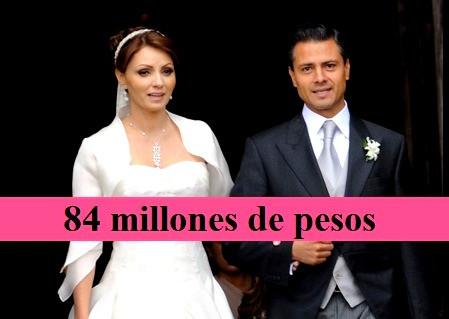 Angélica Rivera, cobró 84 millones de pesos por ser la esposa de Enrique Peña Nieto