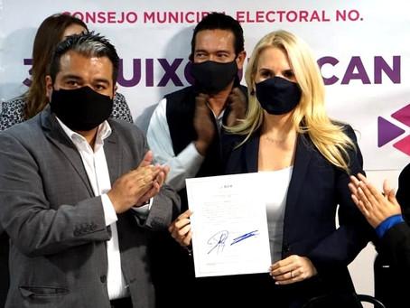 Romina Contreras Carrasco, se convierte en la primera presidenta municipal electa de Huixquilucan