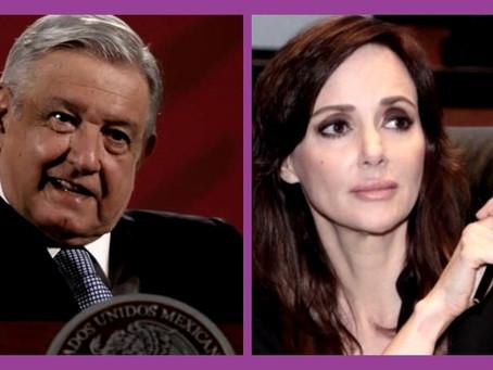 El PAN responsabiliza a López Obrador por amenazas contra Lilly Téllez