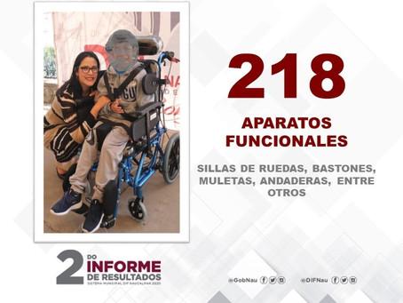 El DIF Naucalpan presume 2do Informe de Gobierno…con una foto de 2019