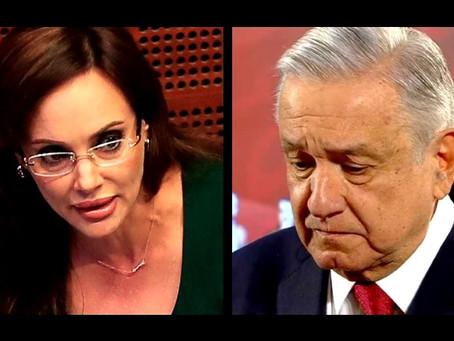 López Obrador le tiene miedo, terror y pavor a Lilly Téllez