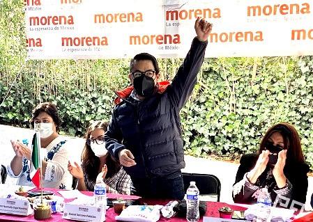"""""""Es momento de definiciones en MORENA"""": Daniel Serrano Palacios"""