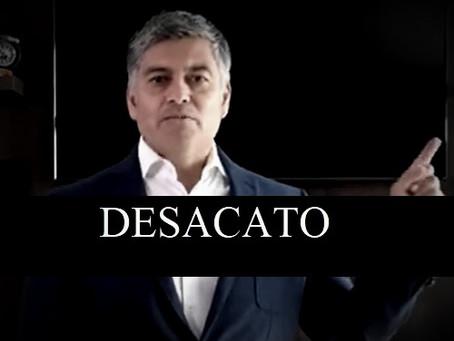 David Sánchez Isidoro, estaría inhabilitado para ocupar cargos públicos