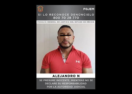 Fiscalía del Estado de México, anuncia captura de cabecilla de la Familia Michoacana