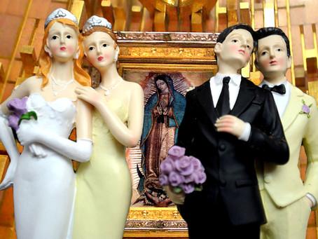 La Iglesia Católica del Estado de México, se pronuncia en contra de los matrimonios lésbico gay