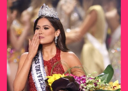 La Miss Universo, Andrea Meza, reprochó la actuación de López Obrador durante la pandemia