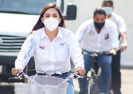 Krishna Romero Velázquez, la joven candidata que deslumbra en Tlalnepantla