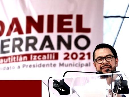 Daniel Serrano Palacios, alcalde de Cuautitlán Izcalli