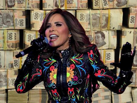 Acusan a Gloria Trevi y a su esposo, por evadir 400 millones de pesos al fisco