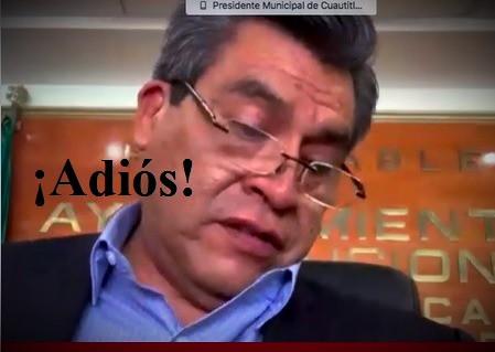Ricardo Núñez Ayala, y su gran temor de ser destituido como alcalde de Cuautitlán Izcalli