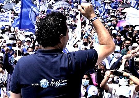 """""""Maurilio Hernández está desesperado por el desplome de MORENA"""", afirma Enrique Vargas del Villar"""