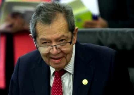Grupo de mujeres, acusa a Porfirio Muñoz Ledo de acoso sexual