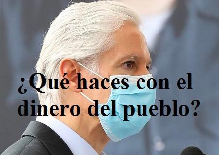 Alfredo del Mazo Maza...¡entrega bono por 17 millones de pesos a sindicalizados del sector salud!